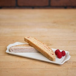 Black Pepper Raspberry Biscotti