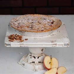 Apple Caramel Pecan Pie